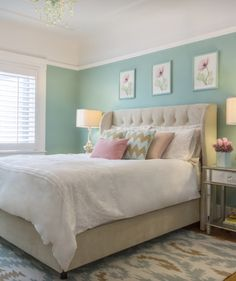 Miss Alice Designs (House of Turquoise) - Home Decor Designs Dream Bedroom, Home Bedroom, Bedroom Decor, Bedroom Ideas, Bedroom Pictures, Headboard Ideas, Decorating Bedrooms, Bedroom Layouts, Bedroom Themes
