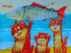 Картины (живопись) : На фоне моря серия,,GOLD,,