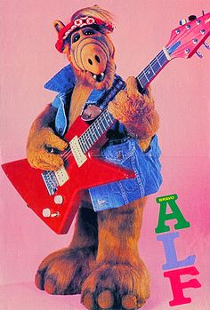 An 80's pop culture icon from space, the one and only...ALF!!