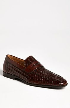 Magnanni 'Reo' Penny Loafer available at #Nordstrom