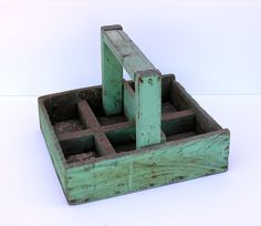 $60 - Antique Rustic Wooden Carrying Box