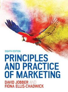 Free Read Principles and Practice of Marketing (UK Higher Education Business Marketing) Author David Jobber and Fiona Ellis-Chadwick Marketing Pdf, Business Marketing, Got Books, Books To Read, Business Studies, Books 2016, Book Photography, Free Reading, What To Read