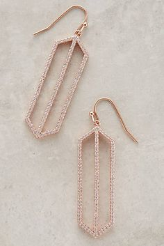 Pave Prism Drops, Anthropologie