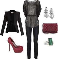 """""""Holiday Party"""" by kguyotte ❤ liked on Polyvore"""