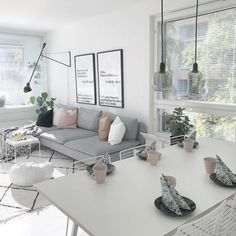Home Decor - living room. Home Living Room, Living Room Decor, Bedroom Decor, Söderhamn Sofa, Interior Design Living Room Warm, Easy Home Decor, Home And Deco, Living Room Inspiration, Decoration