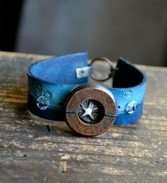 Night Cuff by LoreleiEurtoJewelry on Etsy, $50.00