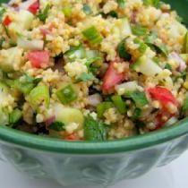 Gluten-Free Millet Tabbouleh Recipe