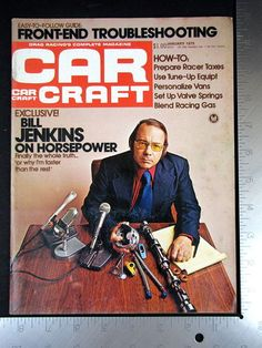 CAR CRAFT Magazine January 1975 Racer Racer Tax Prep, BILL JENKINS ON HORSEPOWER      This and more available in my store on eBay. http://stores.ebay.com/Middle-Tennessee-That-N-This?_rdc=1