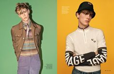GQ Style, Scott Trindle - Styling by Luke Day