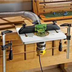 Dewalt dwp611pk compact router wtrim router table and dust port rockler trim router table greentooth Gallery