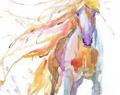 Art print, équestre, équine de cheval, cheval abstrait peinture, expressions aquarelle équines, amateur de chevaux, décoration, cadeaux cheval sauvage, dressage « Cheval » haute qualité fine art print de ma peinture aquarelle originale. Cest le œuvre dune série daquarelle « Portraits of the Heart » Papier au format : 21 cm x 29,7 cm, 8 1/4 po x 11,5/8 po, A4. (avec des bordures blanches) - 18,00 $ sadapter dans des cadres trouvés dans les grands magasins 8x10(20cmx25cm) - laissant...