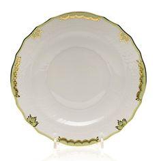 Herend Princess Victoria Salad Plate, Green   Bloomingdale's