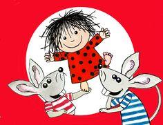 Cirkeline a Danish cartoon character created by Hanne Hastrup (b. 1940) in 1957 #dsscartoon