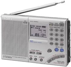 Radios, Sony Electronics, World Radio, Digital Clock Radio, Receptor, Antique Radio, Short Waves, Transistor Radio, Ham Radio