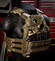 SPAV-W™  The Special Purpose Armor Vest or SPAV™ is designed to work as an armor plate carrier that can be used low profile, or as a primary assault carrier. T This carrier holds SAPI and ESAPI plates and has options in a low profile kangaroo pouch to hold magazines with the provided dividers and mag retention straps. The carrier is made out of 1000D Cordura and is designed to last.