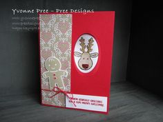 Cookie Cutter Christmas, Cookie-Cutter Builder Punch, Peek A Boo card, Candy Cane Lane DSP,  2016 Holiday Catalogue, Stampin' Up!, Pree Designs, Yvonne Pree