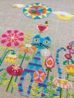 Patterns: Satsuma Street Garden Cat