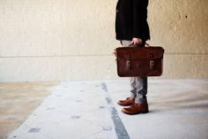 Our classic Document Case styled with Red Wing 9022. This is a great shot for the 9022's launch party at MartinPatrick3. #madeinamerica #madetolast #madeinMN