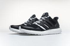 c6343dc66b1df Undefeated x Adidas Ultra Boost 4.0 B22480 Black White Real Boost4 Nike  Tanjun