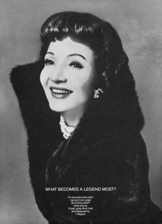 Claudette Colbert - 1971 - What Becomes A Legend Most? Bert Stern, Richard Avedon, Robert Mapplethorpe, Annie Leibovitz, Vintage Hollywood, In Hollywood, Andy Warhol, The Palm Beach Story, It Happened One Night