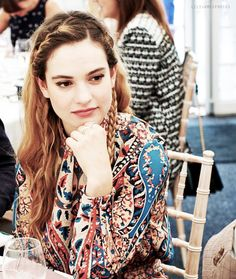 Lily James. Lucie Manette in 'A Tale of Two Cities'