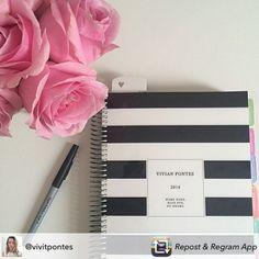 Se organize com estilo! Compre online e receba em casa. www.paperview.com.br #meudailyplanner #dailyplanner #planner2016 #plannerlove