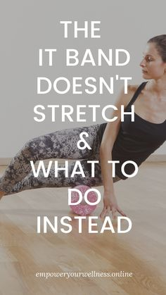 It Band Stretches, Stretches For Flexibility, Flexibility Workout, Stretching Exercises, Fitness Goals, Fitness Tips, Fitness Motivation, Health Fitness, Iliotibial Band Syndrome