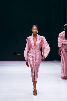 Lagos Fashion Week 2019 | Style Temple | BN Style Black Girl Fashion, Pink Fashion, Fashion Week, Couture Fashion, Runway Fashion, Fashion Beauty, Fashion Show, Fashion Looks, Fashion Dresses