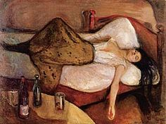 Edvard Munch -The Day After - 1894, oil on canvas.