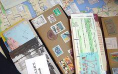 カスタマイズ| トラベラーズノート Sketch Journal, Journal Diary, Journal Pages, Stationery Paper, Travel Scrapbook, Altered Books, Travelers Notebook, Journal Inspiration, Collage Pictures
