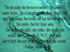 Bereaved motherhood. (Letters To Leia)