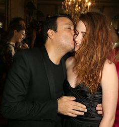 Kristen and Zuhair Murad