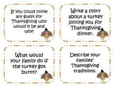 Thanksgiving creative writing prompts what are dissertations