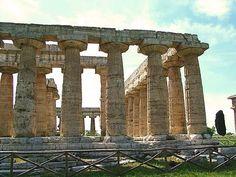 Tempio di Hera (550 - 450 a.C.) #Paestum, UNESCO World Heritage