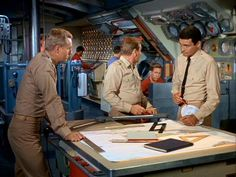 voyage to the bottom of the sea control room - Google Search