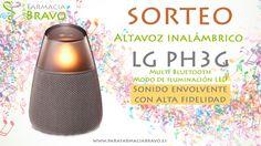 Parafarmacia Bravo te invita al sorteo de un altavoz inalámbrico LG PH3G