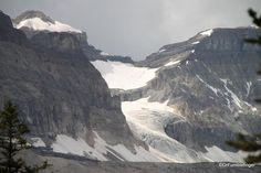 Glacier near north end of Boom Lake, Banff National Park