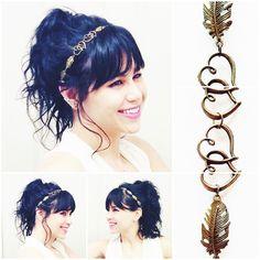 More #spring time! My #beautiful #handcrafted #bronze #hearts and #leaf #headband goes all the way to #Georgia! Get yours at #etsy: #TheFlowerGirlStore etsy.com/shop/TheFlowerGirlStore.com #art #artist #artisan #handmade #hair #handmade #haircandy #hairband #fashion #vintage #wedding #bridal #bridetobe #Bride #bridesmaid #craftsposure #makersvillage #etsyelite #etsyfashionhunter #indie #boho #bohemian #hippie #musicfestival