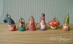 NŌM necklaces 731-35 by merwing✿little dear, via Flickr
