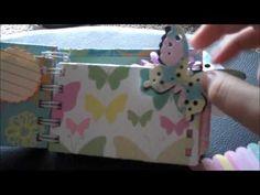 Toilet Paper Roll Mini Album In A Box (Victorian Family Theme) Kat & Junebug Class T.P. MINI ALBUM - YouTube