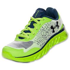 Boys' Preschool Under Armour Spine Lazer Running Shoes | FinishLine.com |  Hyper Green
