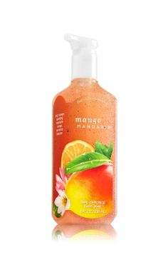 Mango Mandarin Deep Cleansing Hand Soap - A fruity splash of juicy mango, sparkling mandarin orange & nectarine blossom