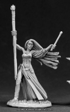 03028: Tristan the Loremistress ($5.99) Dennis Mize  Reaper Miniatures :: OnlineStore