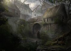 https://www.artstation.com/artwork/murky-village