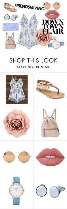 """friendsgiving"" by micky-horses on Polyvore featuring Penny Loves Kenny, Fendi, Victoria Beckham, Lime Crime, CLUSE, Skagen and Casetify"