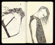 SKETCHBOOK #1 by Tavo Montañez, via Behance
