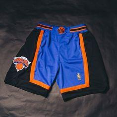 Mitchell & Ness NBA Authentic Knicks Short (Blue) $125