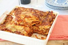 I've been making this Easy Thermomix Beef and Cheese Lasagne for years - it's so good! #thermomix