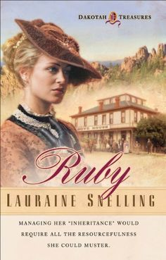 Free Book - Ruby , the first title in Lauraine Snelling's Dakotah Treasures series, is a repeat freebie in the Kindle store and from Sony, courtesy of Christian publisher Bethany House. The Kindle edition is under a new ASIN and it looks like the format has been upgraded, so be sure to grab the newer version.