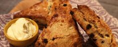 """Orange and Currant Scones (Easiest Brunch Ever!) - Carla Hall, """"The Chew"""" on ABC. The Chew Recipes, Cooking Recipes, Bread Recipes, Scone Recipes, Pizza Recipes, Dessert Recipes, Currant Scones Recipe, The Chew Tv Show, Raisin Scones"""